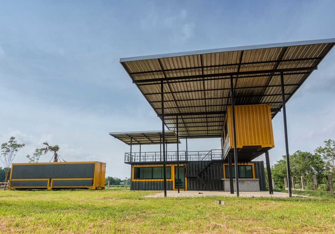 protected container homes